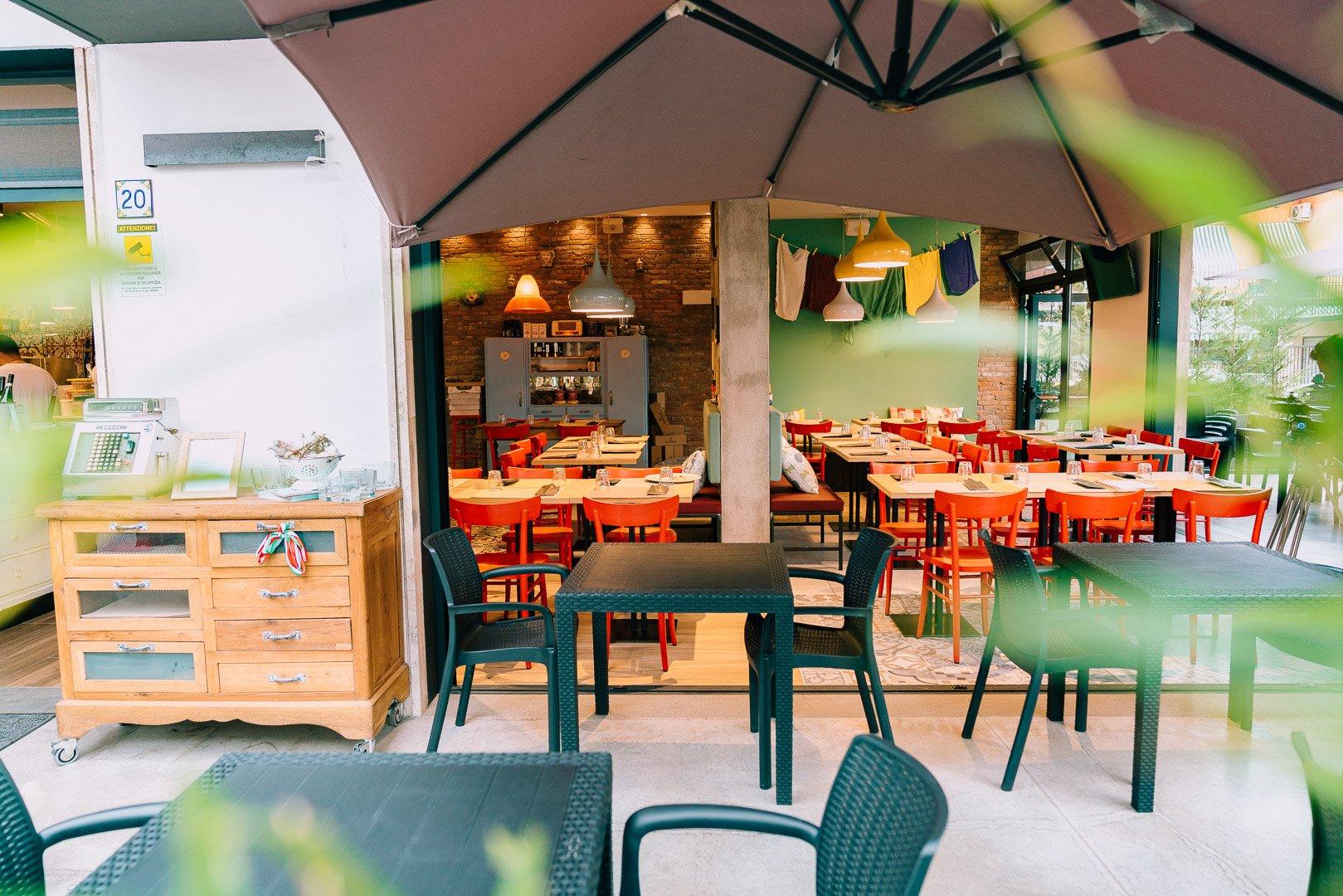 Pizzeria la Mafaldina - veranda